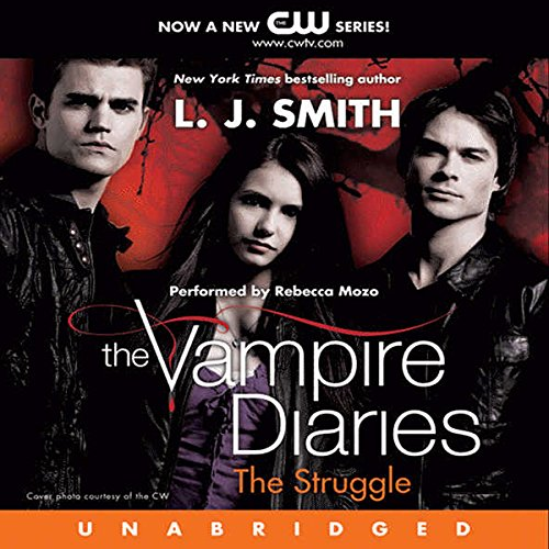 The Vampire Diaries, Book 2 audiobook cover art
