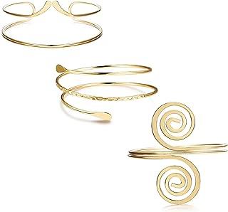 Best gold upper arm bracelet Reviews