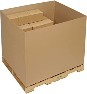 Bulk Cargo Container - Double Wall Gaylord Bottom Container - 48x40x36