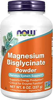 NOW Supplements, Magnesium Bisglycinate Powder, 8-Ounce