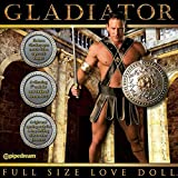 """Full Size GLADIATOR Love Doll for Women with 7 Inch Vibrating """"Bigus Dickus"""""""