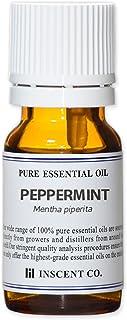 ペパーミント 10ml インセント アロマオイル AEAJ 表示基準適合認定精油