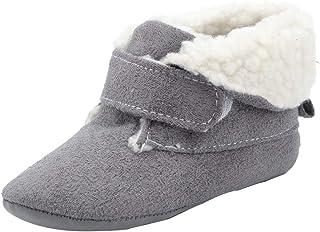 comprar comparacion Zapatos de bebé SunGren Botas para la Nieve Suave de la suavidad del bebé Zapatos Suaves del Pesebre Botas del niño para 0...