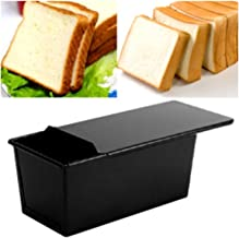 Bake Pans Non Stick Coating Rectangle Bread Loaf Pastry Cake Tin Box Designed With Sliding Lid Baking Pan Bakeware Kitchen Tool,China,