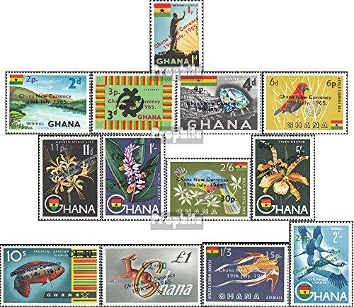 Prophila Collection Ghana 224-236 (kompl.Ausg.) 1965 Dezimalsystem (Briefmarken für Sammler) Pflanzen
