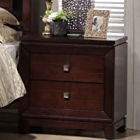 Society Den Easton Nightstand (Warm Cherry finish)