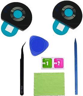 قطعتين من Eaglestar Z2 Play True Glass غطاء الكاميرا الخلفية بديلة لموتورولا موتو Z2 Play مع شريط لاصق مثبت مسبقًا + أدوات...