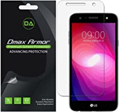 [6-Pack] Dmax Armor for LG Fiesta LTE/LG Fiesta 2 Screen Protector, Anti-Bubble High Definition Clear Shield