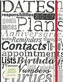 Punctuate 2017 Weekly Planner 7X9 Words Flexibound