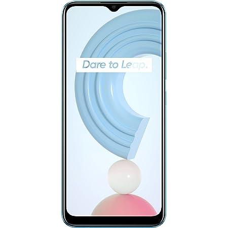 """realme C21 Smartphone, Mega Batteria da 5.000 mAh, Display Mini-Drop da 6.5"""", Tripla Fotocamera da 13 MP con AI, Potente Processore Helio G35, Dual Sim, 3 + 32 GB, Blu (Cross Blue)"""