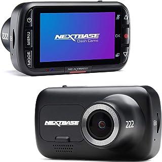 Nextbase 222 - Dash CAM, Cámara del Tablero del automóvil - Full HD 1080p / 30fps Grabación en DVR CAM - Ángulo de visión ...