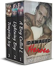 Damaged Heroes: A Dark and Steamy Romance Box Set (Books 1-3) (Damaged Souls Golden Hearts)