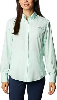 Columbia Women's PFG Tamiami™ II Long Sleeve Shirt, UV Sun Protection, Moisture Wicking Fabric