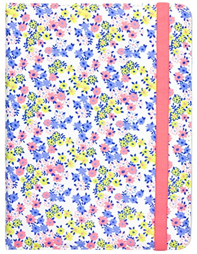 Trendz Universal PU Patterned Leather Folio Tablet Case Cover with Closing Strap and Built-In Standfor 6-8 Inch Tablets such as iPad Mini, iPad Air, Google Nexus 7, Samsung Galaxy Tab 2/3/4, Kobo Arc, Avoca 8 and Kindle Fire HD/HDX 7.0- Ditsy Floral,TZU7FL