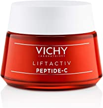 Vichy LiftActiv Peptide-C Anti-Aging Moisturizer, Vitamin C Face Cream with Peptides to Reduce Wrinkles, Firm and Brighten Skin, Paraben Free