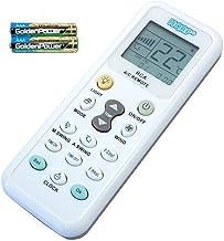 HQRP Mando a distancia universal para Aire Acondicionado Fujitsu DeLonghi Whirlpool Diy Daikin Toshiba Gree LG Sanyo Amcor y otros