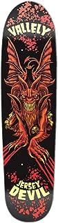 Elephant Brand Skateboards Mike Vallely Jersey Devil Skateboard Deck, 8.375 x 31.5-Inch, Red