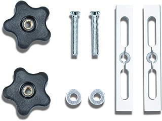 POWERTEC 71394 Miter Slot Hardware Kit | Fixture Locking Woodworking Jigs and Accessories