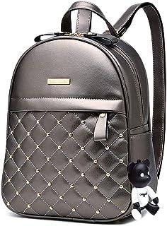 DEERWORD Damen Rucksack Handtaschen Elegant Anti Diebstahl Frau Stadtrucksack Henkeltaschen Tagesrucksack