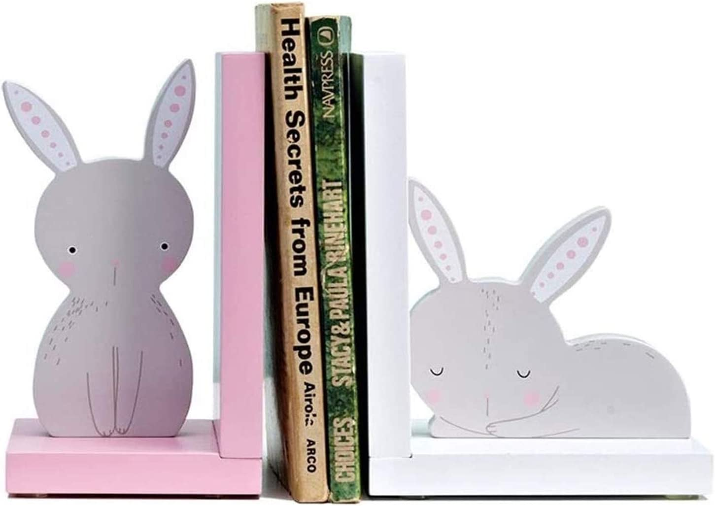 SXhyf Albuquerque Mall Ranking TOP14 Book end 2020NEW S Cartoon Cute Rabbit