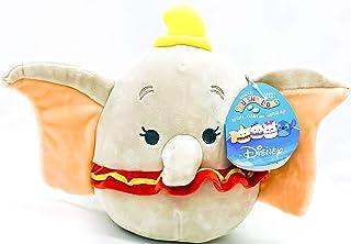"Disney Squishmallow Dumbo 8"" Kelly Toys Super Soft Stuffed Plush Toy Pillow"