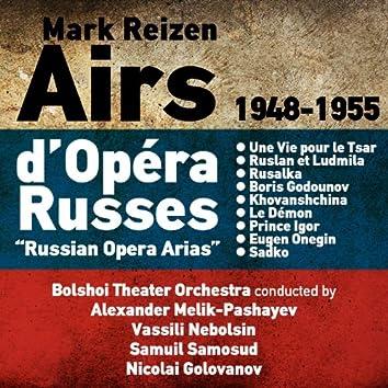 Mark Reizen: Airs d'Opéra Russes (Russian Opera Arias) (1948-1955)