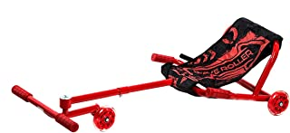 Wave Roller Adjustable Ride On Toy - Red