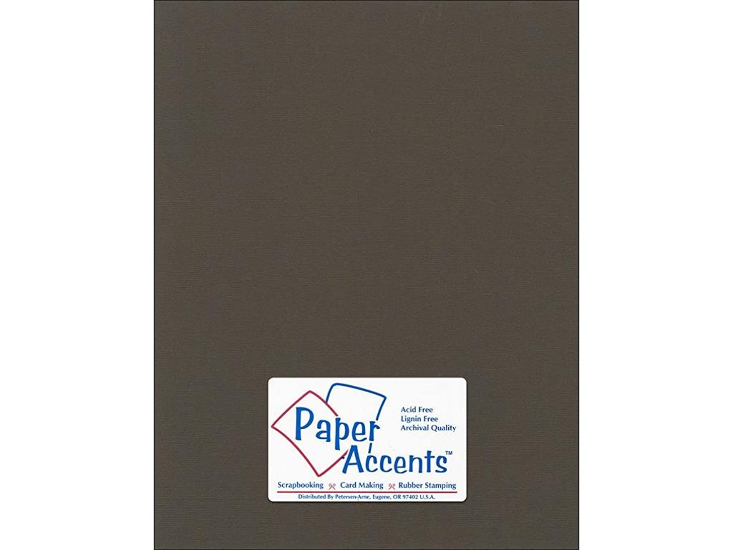 Accent Design Paper Accents Cdstk Canvas 8.5x11 80# Brown Eyes