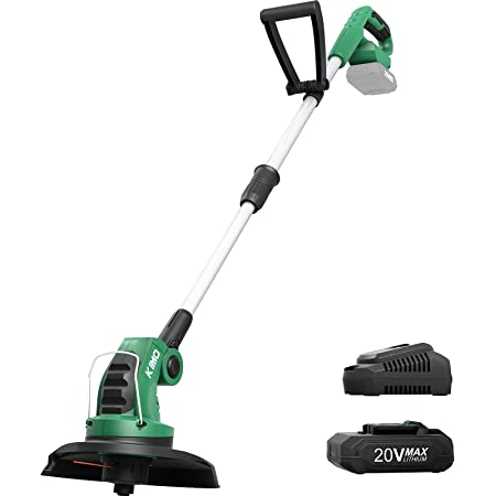 Cordless String Trimmer with Battery /& Charger Battery /& Charger Included Grass Trimmer for Grass Trimming /& Edging SnapFresh Weed Wacker 20V Max Electric Weed Eater Battery Powered