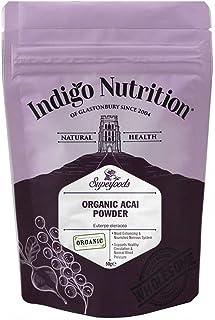 Indigo Herbs Baya De Asaí En Polvo Orgánico 50g