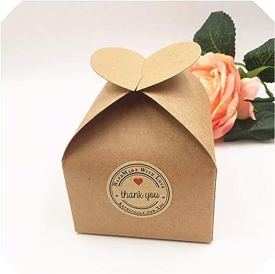Amazon.com: 20 cajas de papel de aluminio de color oro rosa ...