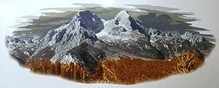 Valley trail 1 RV Trailer Camper Mountain Scene Graphic DECAL-1889