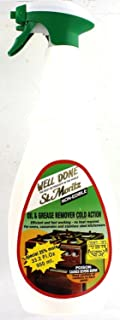 Well Done St. Moritz Oil & Grease Remover Cold Action Kosher For Passover 27 Oz. Pack of 3. (Pack of 6)