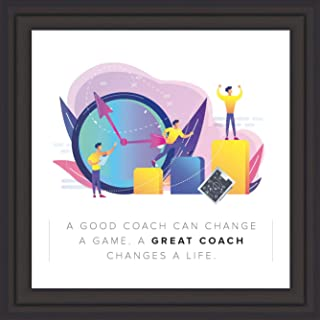 Coach Gifts for Men & Women | Original 7x7 Tile Artwork Ideal for Trainer | Appreciation Gift for Coach | Unique Present for Trainers | Special Home & Office Decorative Art