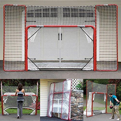 Hockey Folding Pro Goal with Backstop