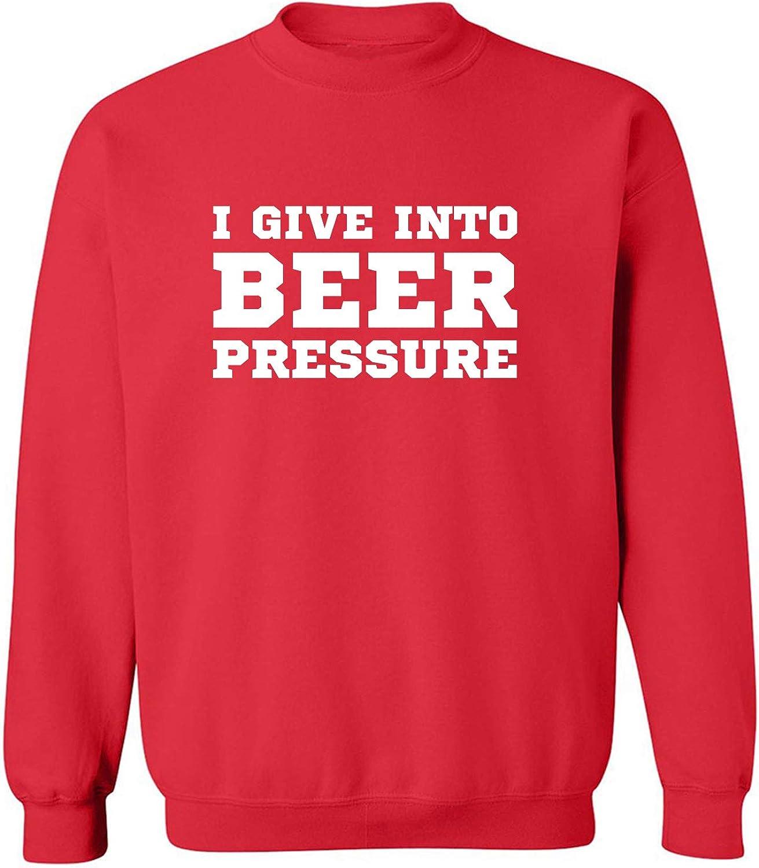 zerogravitee I Give Into Beer Pressure Crewneck Sweatshirt