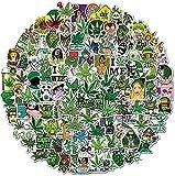 IYOKA Aufkleber Packung 100 Stück,Wasserdicht Vinyl Stickers,Trendy Sticker Einzigartige Coole Aufkleber für Laptop, Gepäck, Skateboard