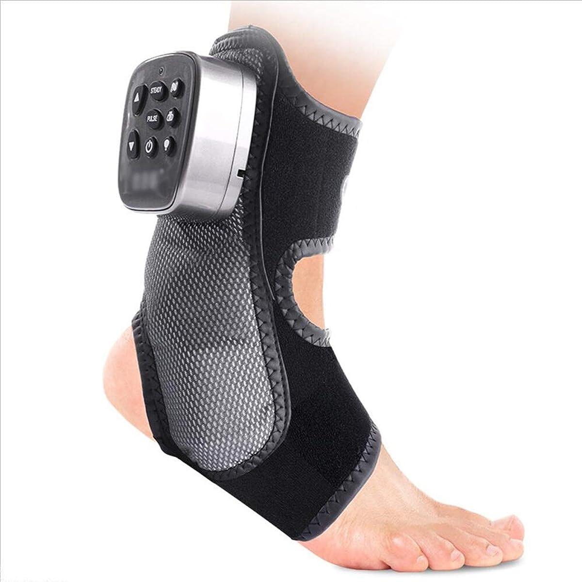 ブラインド従順ひねくれたHAIZHEN マッサージチェア 癒しの救済のためのマッサージャーの足首のサポートアキレス腱の足首の腱のブレースTendonの足底の筋膜炎足のスプリントシルバー