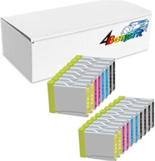 18 Pack. Compatible Cartridges For Brother LC-51. Includes Cartridges for 6 ea LC-51 Black + 4ea LC-51 Cyan + 4ea LC-51 Magenta + 4ea LC-51 Yellow.
