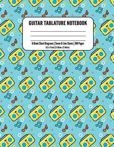 Guitar Tablature Notebook: Guitar Tab Paper Notebook | Bass Guitar Tablature Manuscript Notebook: Blank Bass Guitar Tab Paper Notebook