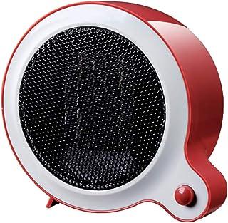 XYW-0007 Calefactor Eléctrica Calefactor cerámica calefacción Inteligente Temperatura Constante Seguridad energía Ahorro Escritorio Personal Espacio Personal Mini Rojo 500W