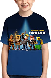 Youth 3D Printed T-Shirt Summer Top Tee Shirt Fashion Game Short Sleeve for Boys and Girls