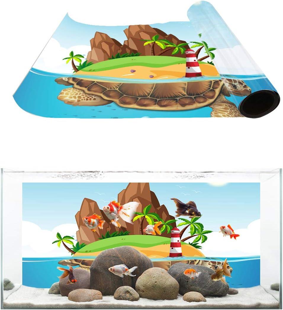 TH XHome Aquarium Background 2021 Fish Reptile Tank Gallon Max 75% OFF Backgroun