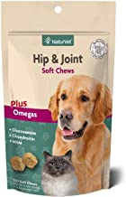 NaturVet – Hip & Joint – 120 Soft Chews – Supports Healthy Hip & Joint Function – Enhanced with Glucosamine, Chondroitin, ...