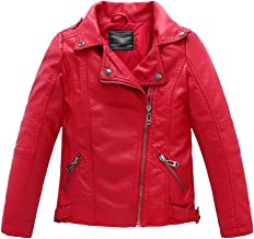 thriller red leather jacket