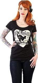 Lucky 13 Women's Prowl Scoop Neck T-Shirt Black