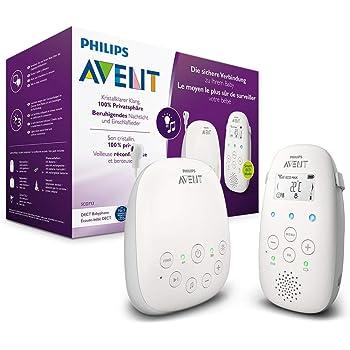 Philips AVENT SCD713/00 Babyphone DECT - Mode Smart ECO, Ecran LCD