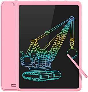 Tecboss LCD Writing Tablet Colorful Large Screen, Electronic Digital Drawing Board Doodle Pad for Office School Home (Pink...