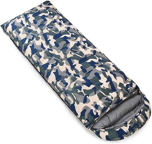 FEIYUESS Sac de Couchage enveloppe, Camping en Plein air pour Adultes Garder au Chaud Le Sac de Couchage, Peut être collé dans Un Sac de Couchage Double (Couleur   Camouflage 3, Taille   1.8KG)