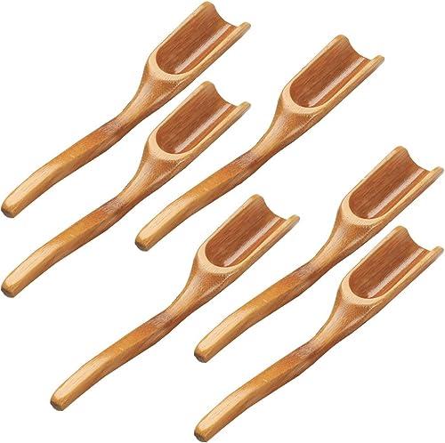 Home Tea Spade Wooden Teaspoon Household Gadgets Kongfu Kitchen Tea Shovel LI